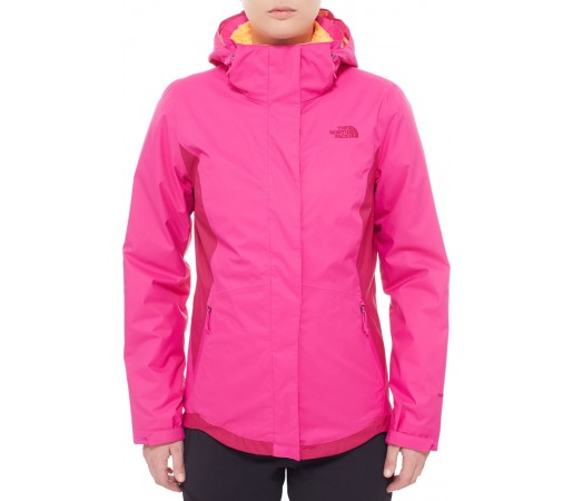 Geaca The North Face Mossbud Swirl Triclimate Roz/Mov