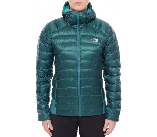 Geaca The North Face W Quince Pro Hooded Verde