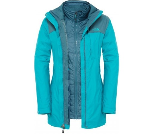Geaca The North Face Solaris Triclimate Albastra