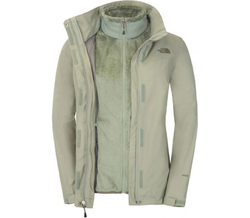 Geca The North Face W Stratosphere Triclimate Green