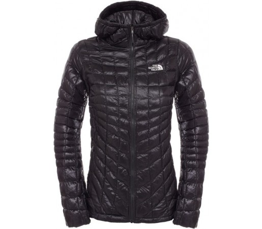 Geaca The North Face Thermoball Hoodie Neagra