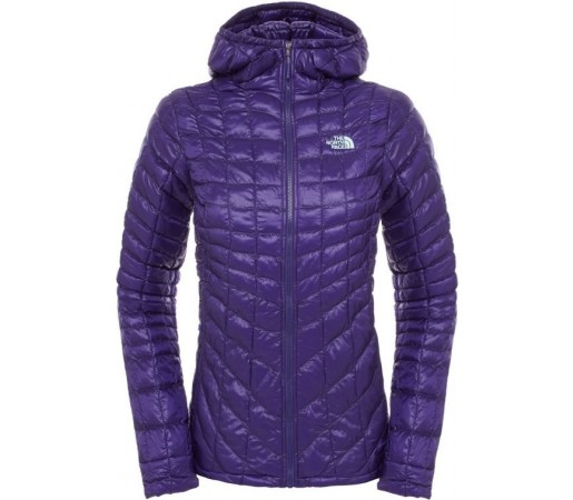 Geaca The North Face Thermoball Hoodie Mov/Verde