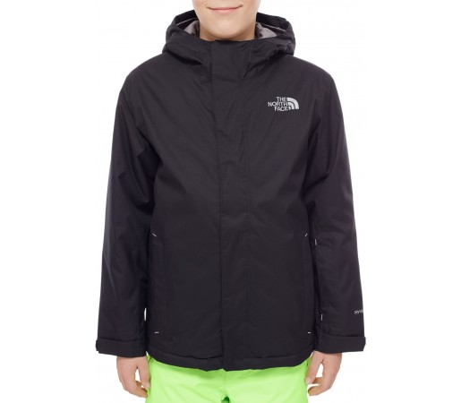 Geaca schi si snowboard The North Face Y Snowquest Neagra