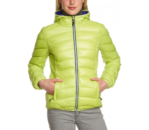 Geaca Brekka Holiday Down Jacket Woman Verde
