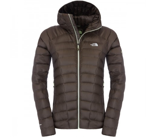 Geaca The North Face W Quince Pro Hooded Negru/Verde