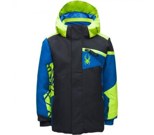 Geaca Ski Baietei Spyder Mini Challenger Albastru