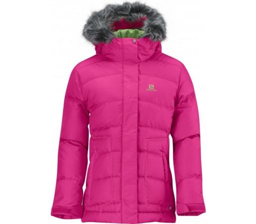Geaca Ski Salomon Electra JR Hot Pink