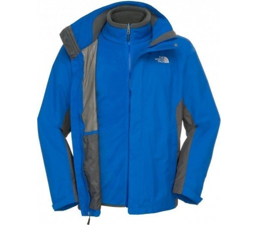 Geaca The North Face Evolution II Triclimate Blue-Grey