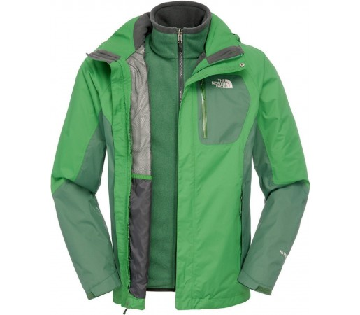 Geaca The North Face Zenith Triclimate Green