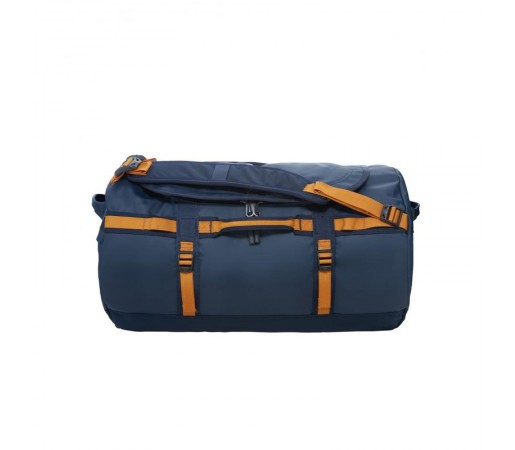 Geanta The North Face Base Camp Duffel - S Albastra/Galbena