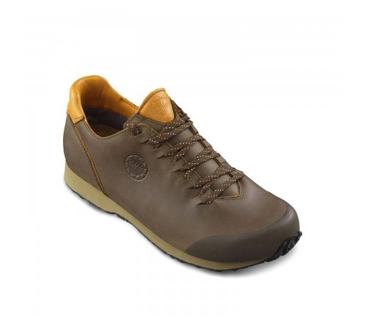 Pantofi Casual Barbati Lomer Conero Low Mertex Maro