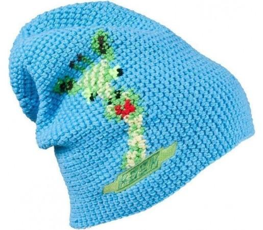 Caciula Kask Giraffe (Crochet Handmade) Light Blue 2013
