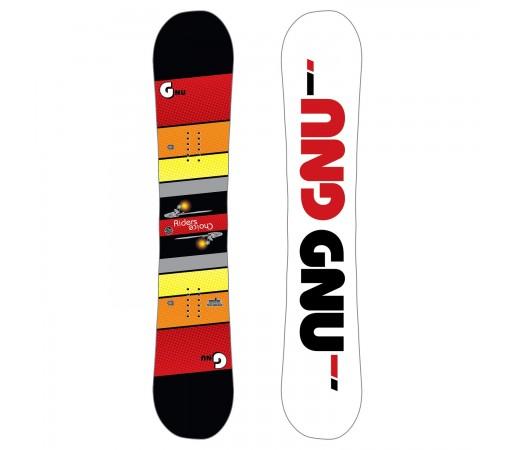 Placa Snowboard Barbati GNU ASYM Rider's Choice C2X 2019