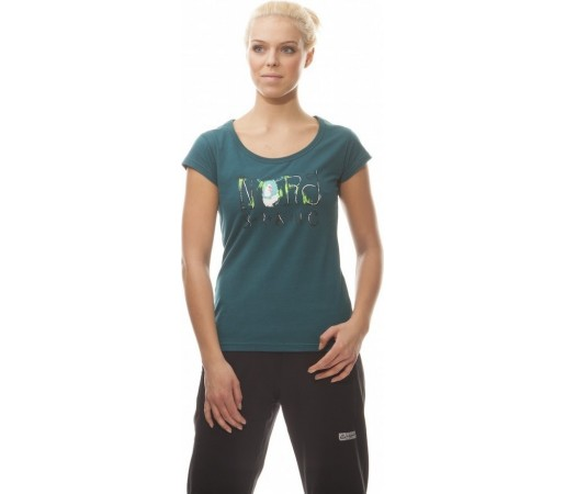 Tricou Nordblanc Heaven Ladie's Light Cotton Verde