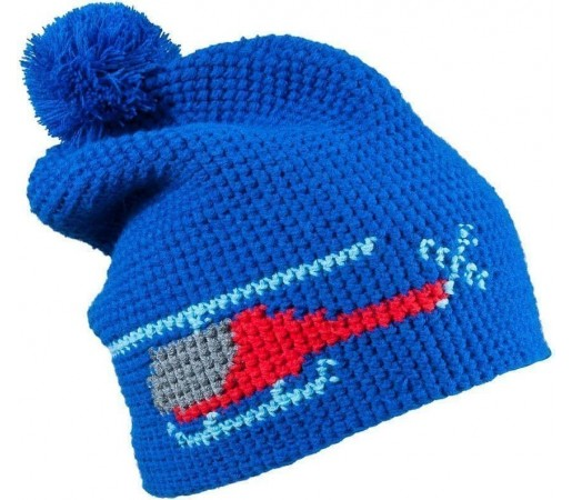 Caciula Kask Heli (Crochet Handmade) Royal Blue 2013