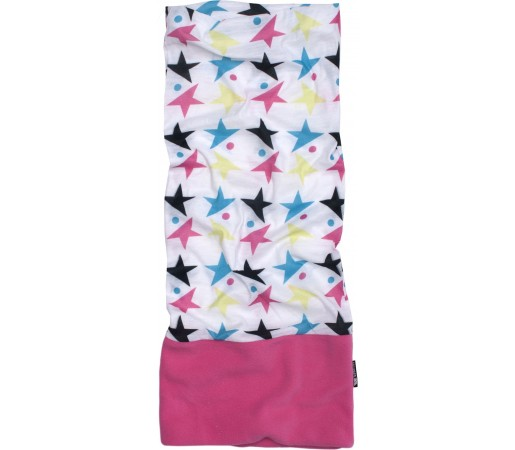 Neck Tube Trespass Hettie Stars White/Pink