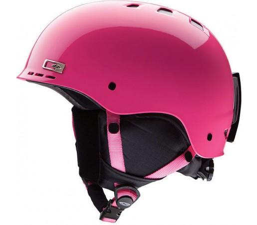 Casca Schi si Snowboard Smith Holt Junior Bright Pink