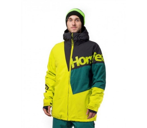Geaca schi si snowboard Horsefeathers Pursuit Verde