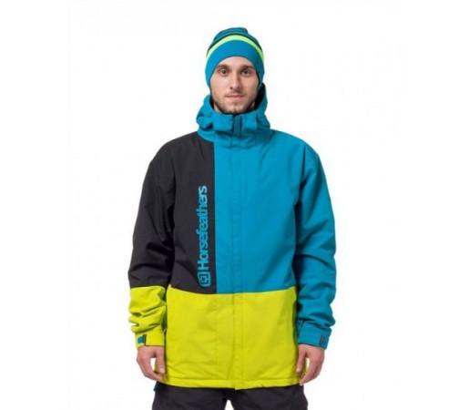 Geaca schi si snowboard Horsefeathers Taylor Albastra