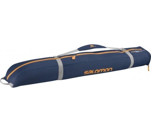 Husa Ski Salomon 130 + 25 Exp Jr Blue