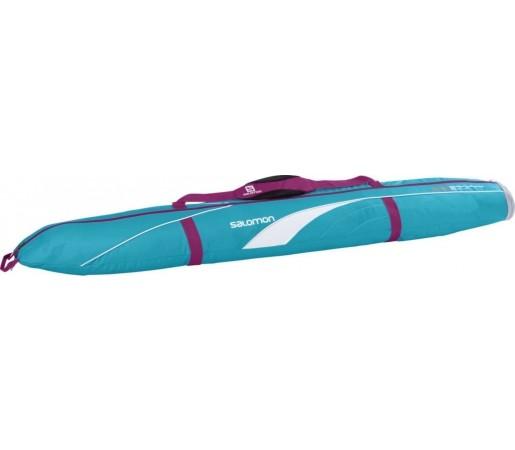 Husa Ski Salomon 155 + 20 Exp Blue