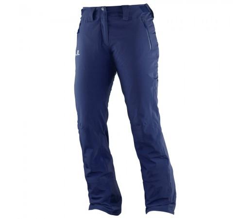 Pantaloni schi si snowboard Salomon Iceglory Pant W Bleumarin
