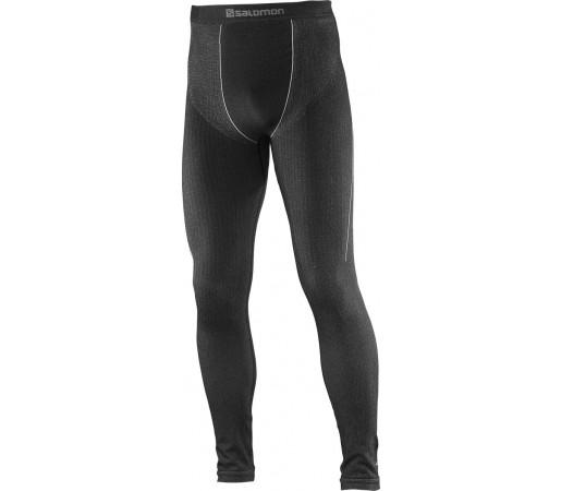 Pantaloni First Layer Salomon Primo Warm Tight M Negru