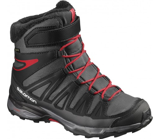 Incaltaminte Hiking Salomon X-Ultra Winter GTX J Negru