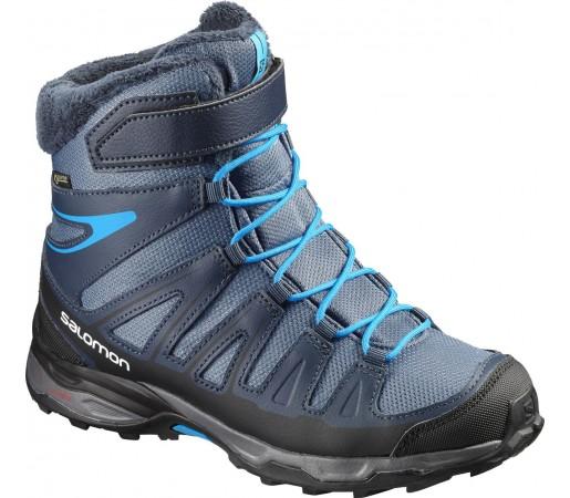 Incaltaminte Hiking Salomon X-Ultra Winter GTX J Albastru