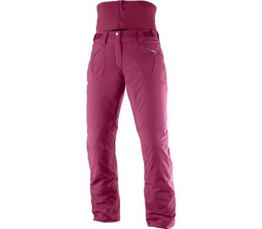 Pantaloni Schi Salomon Qst Snow W Roz
