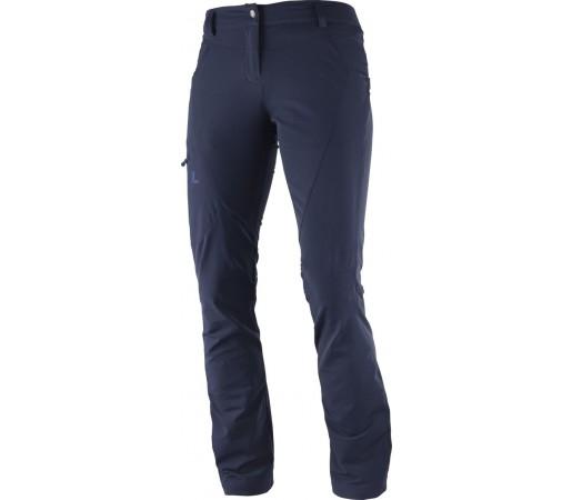 Pantaloni Salomon Wayfarer Utility W Bleumarin
