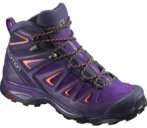 Incaltaminte Hiking Salomon X Ultra 3 Mid GTX W Violet