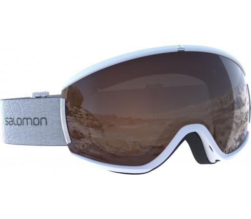 Ochelari Schi si Snowboard Salomon Ivy Access Whte / Universal Tonic Orange