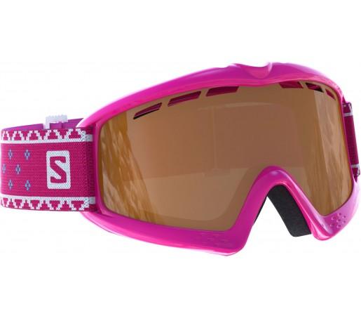 Ochelari Schi si Snowboard Salomon Kiwi Pink / Universal Silver Mirror