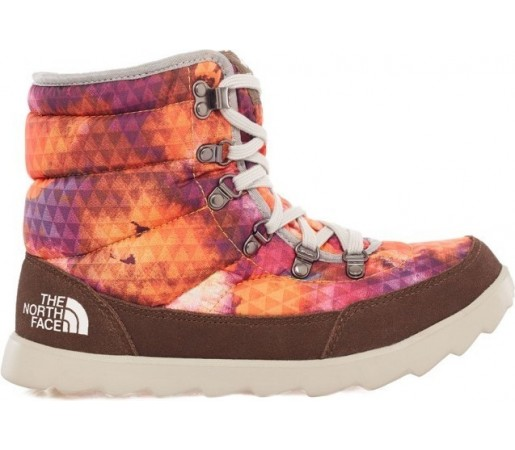 Incaltaminte The North Face W Thermoball Lace Portocalie/Maro