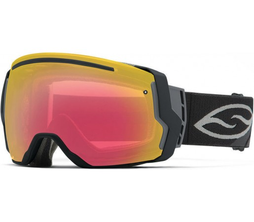 Ochelari Schi si Snowboard Smith I/O SEVEN Black/Photochromic Red Sensor
