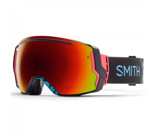 Ochelari ski si snowboard Smith I/O7 Neon Blacklight Red-Solx