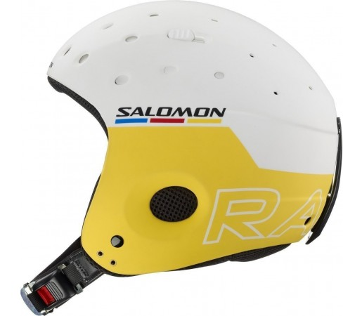 Casca Salomon Equipe White/Yellow Matt 2013