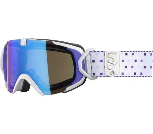 Ochelari ski Salomon X-VIEW 12 SMALL ML White/solar