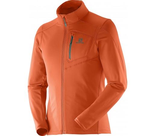 Bluza Salomon Discovery FZ Midlayer M Orange