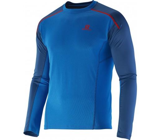 Bluza Salomon Apogee LS M Blue