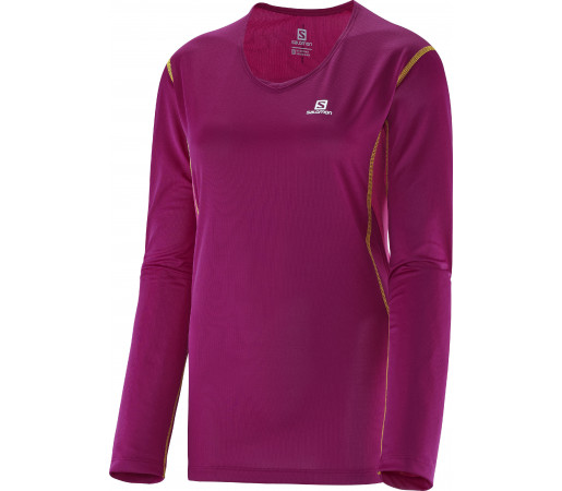Bluza Salomon Trail Ls Tee W Purple