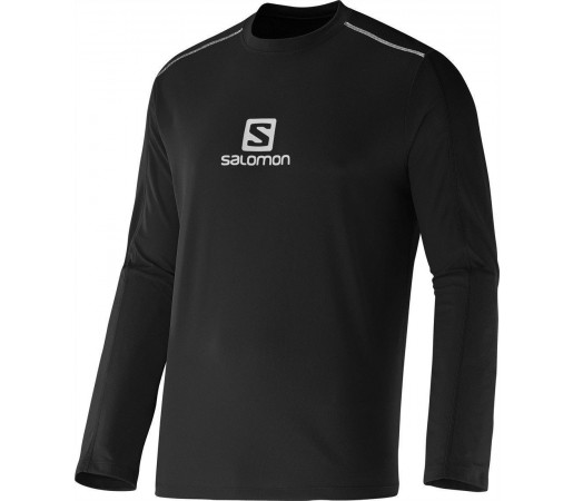 Bluza Tehnica Salomon Stroll Logo M Black
