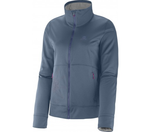 Mid Layer Salomon Cruz Fz 2 W Bleu-Grey