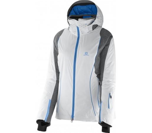 Geaca Schi si Snowboard Salomon Whitemount Mix GTX Motion Fit W White