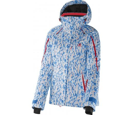 Geaca Ski si Snowboard Salomon Supernova W Blue/White