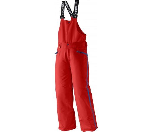Pantaloni Ski si Snowboard Salomon Incline JR Bib K Red
