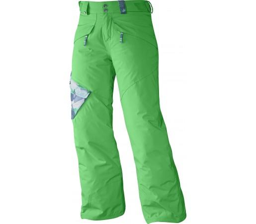 Pantaloni Ski si Snowboard Salomon Chillout Jr. Green