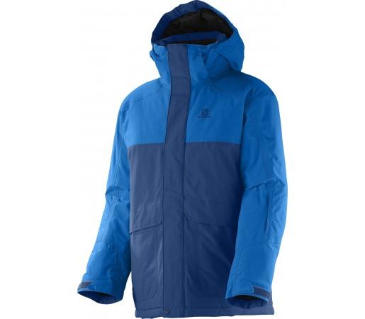 Geaca Ski si Snowboard Salomon Chillout Jr K Blue