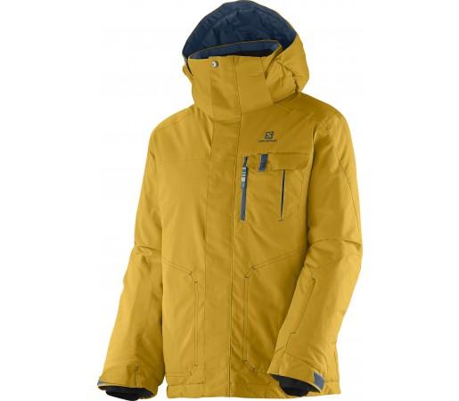 Geaca Ski si Snowboard Salomon Snowflex Jr. K Yellow